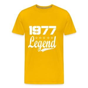 77 Legend - Men's Premium T-Shirt