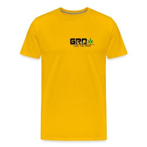 GrowLikeTheProsLogo - Men's Premium T-Shirt