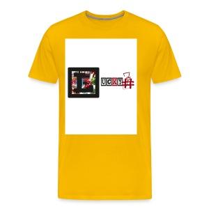 Lucky7 logo - Men's Premium T-Shirt
