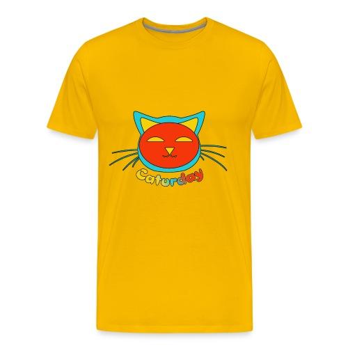 Caturday Design - Men's Premium T-Shirt