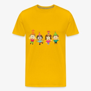 Children and Party - Men's Premium T-Shirt