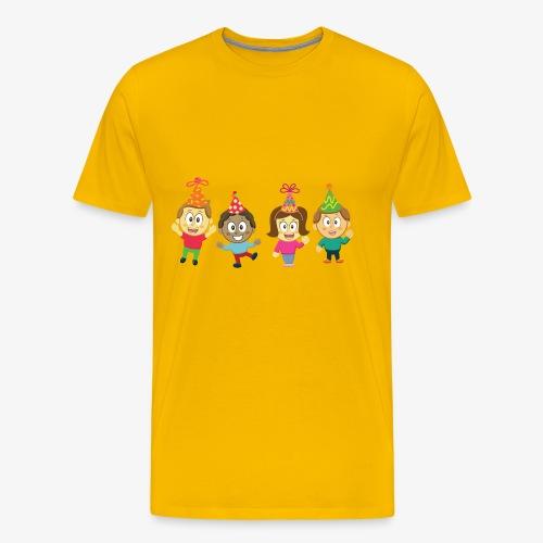 Children and Party - Men's Premium T-Shirt