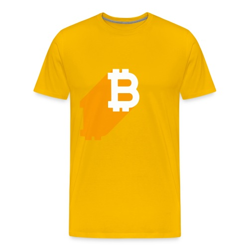 Bitcoin Shadow - Men's Premium T-Shirt