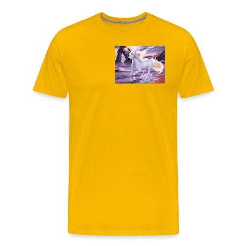 Unicorn Butterfly - Men's Premium T-Shirt