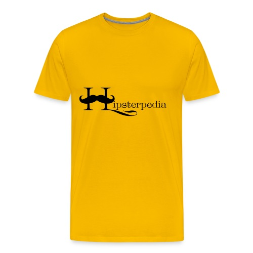 Hipsterpedia Logo - Men's Premium T-Shirt