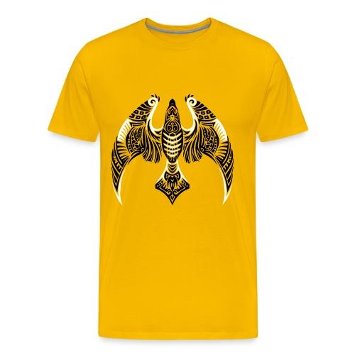 Hawk Totem - Men's Premium T-Shirt