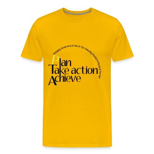 Plan-Take Action-Achieve - Men's Premium T-Shirt