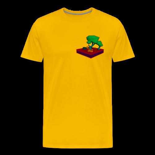 Mini Forest LowPoly - Men's Premium T-Shirt