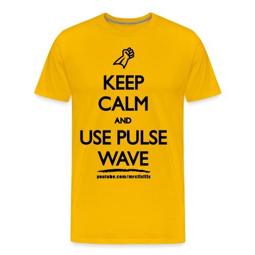 Pulse Wave - Men's Premium T-Shirt