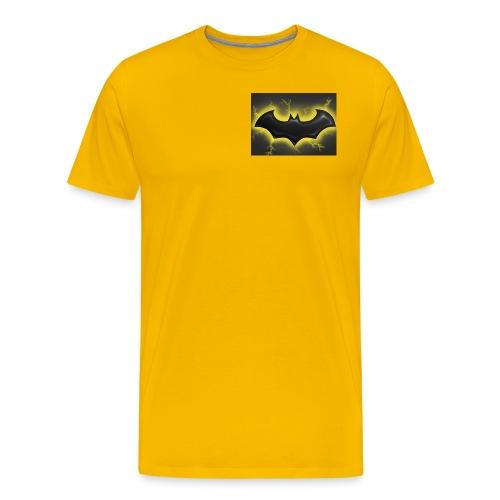 batman symbol by mushroomproductions d3d6cxs - Men's Premium T-Shirt