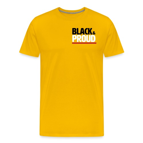 Black & Proud - Men's Premium T-Shirt