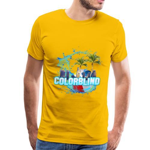 COLORBLIND - Beach Party - Men's Premium T-Shirt