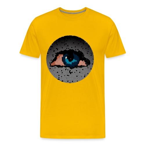 human eye art - Men's Premium T-Shirt