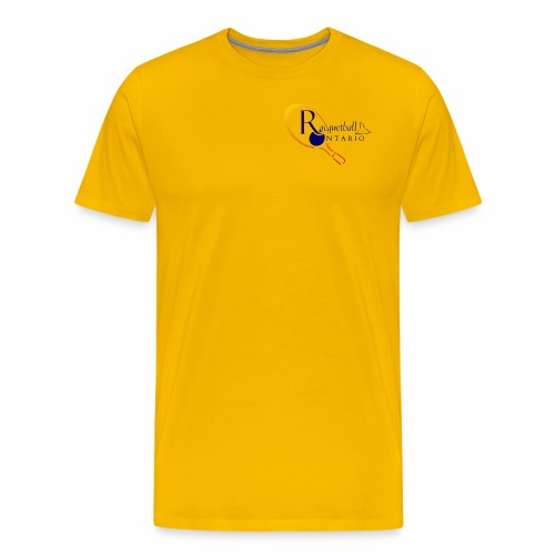 Racquetball Ontario branded products - Men's Premium T-Shirt
