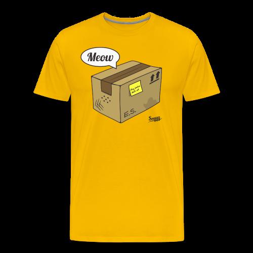 Schroedinger's cat (version 2) - Men's Premium T-Shirt