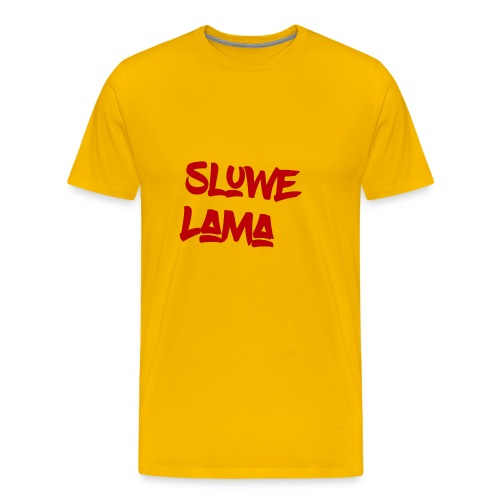 SluweLama Design - Men's Premium T-Shirt