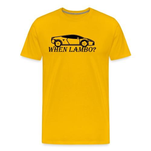 When Lambo - Men's Premium T-Shirt