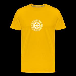 Nikstalgic - White Clock - Men's Premium T-Shirt