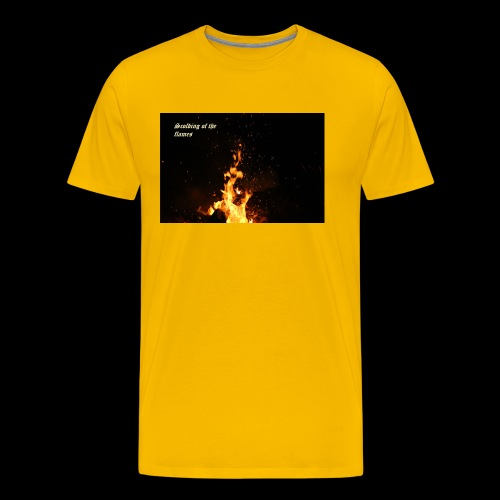 the flames - Men's Premium T-Shirt