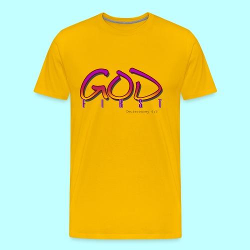 God First - Men's Premium T-Shirt