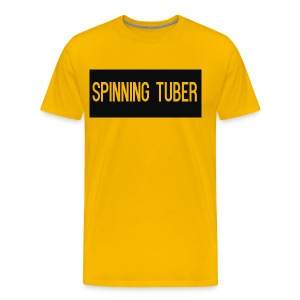 Spinning Tuber's Design - Men's Premium T-Shirt