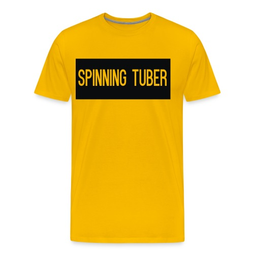 Spinning Tuber's Design - Men's Premium T-Shirt