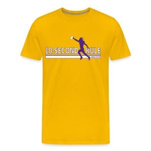 10 Second Rule (January 14, 2018) - Men's Premium T-Shirt