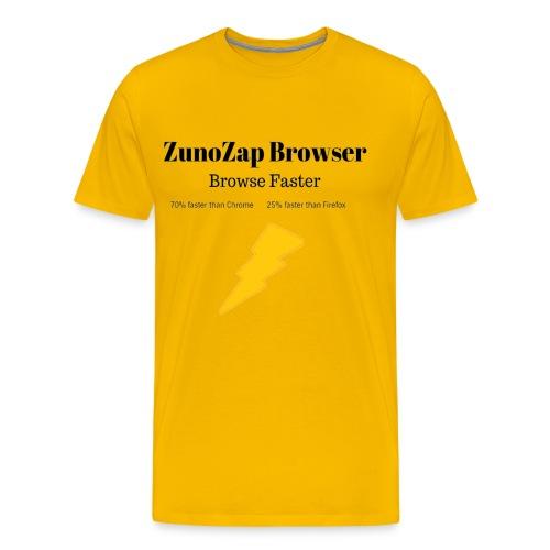 ZunoZap Merch (2nt design) - Men's Premium T-Shirt
