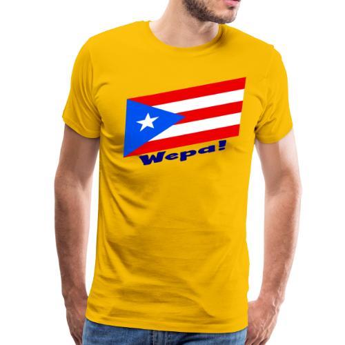 Puerto Rico - Wepa! - Men's Premium T-Shirt