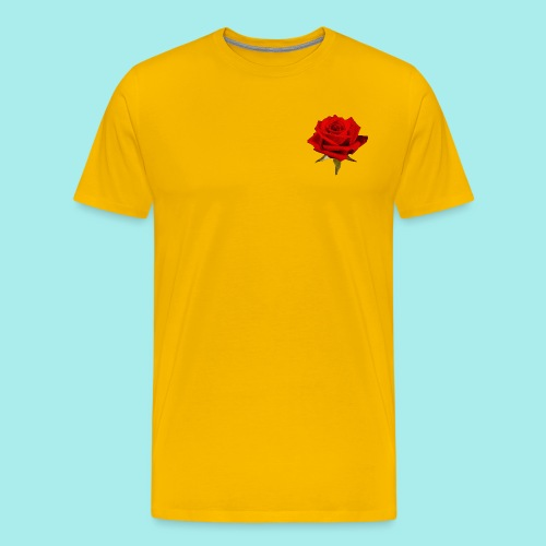 Rose For My Sweet - Men's Premium T-Shirt