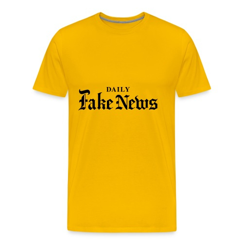 DAILY Fake News - Men's Premium T-Shirt