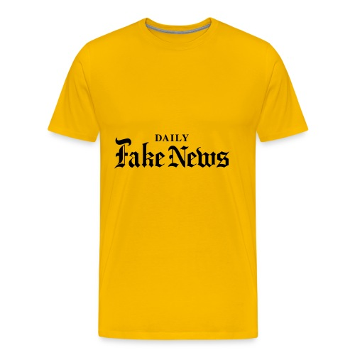 DAILY Fake News - Men's Premium T-Shirt