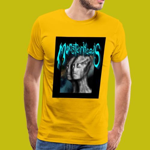 MonsterHeads ~ Grayman Aliens - Men's Premium T-Shirt