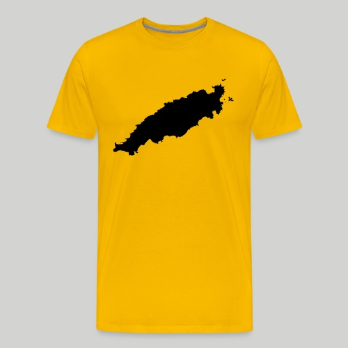Tobago in Silhouette - Men's Premium T-Shirt