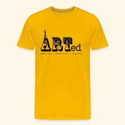 i arted (carnival theme) - Men's Premium T-Shirt