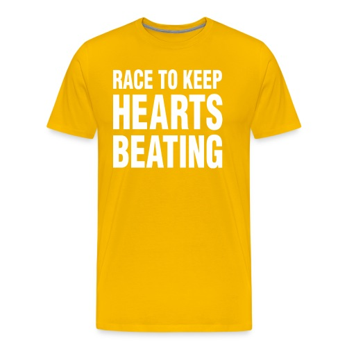 Race to Keep Hearts Beating - Men's Premium T-Shirt
