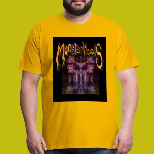 MonsterHeads ~ Purple Bio-Organic Frankenstein's. - Men's Premium T-Shirt