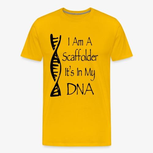 Scaffolder DNA - Men's Premium T-Shirt