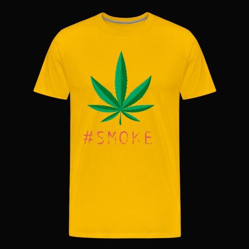 #SMOKE - Men's Premium T-Shirt