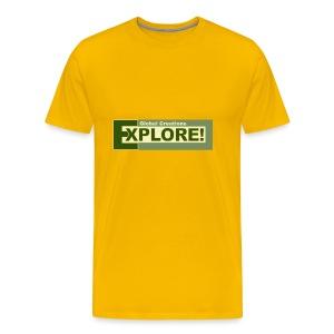 Explore Logo - Men's Premium T-Shirt
