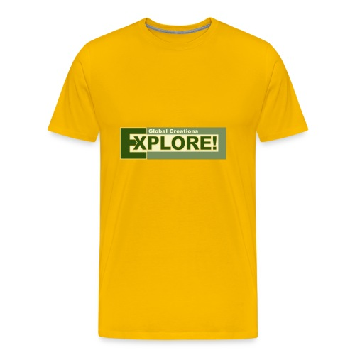 Explore Logo - Men's Premium T-Shirt