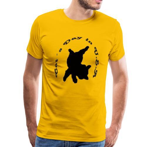 Cat´s Day in USA - Men's Premium T-Shirt