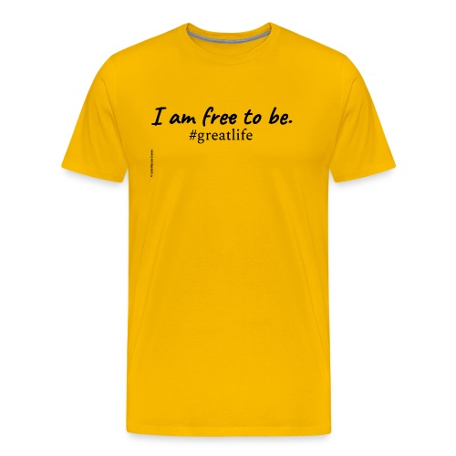 Free to Be Movement (upgrade) - Men's Premium T-Shirt