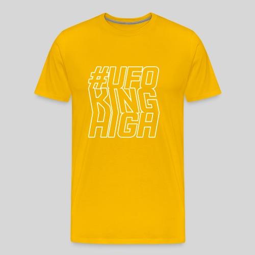 ALIENS WITH WIGS - #UFOKingHigh - Men's Premium T-Shirt
