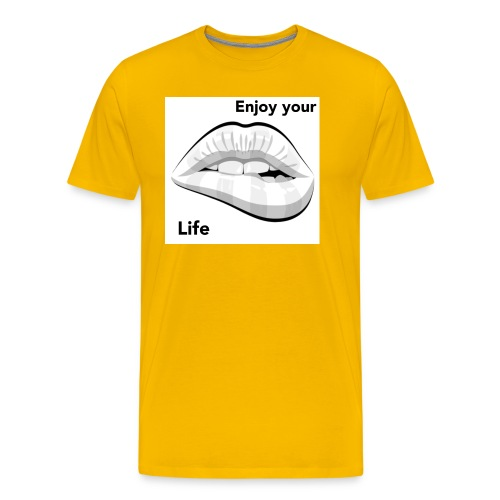 Enjoy your life - Men's Premium T-Shirt