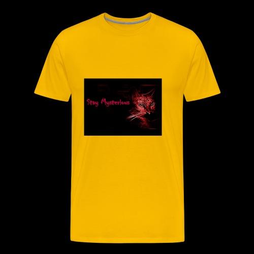 Stay Mysterious - Men's Premium T-Shirt