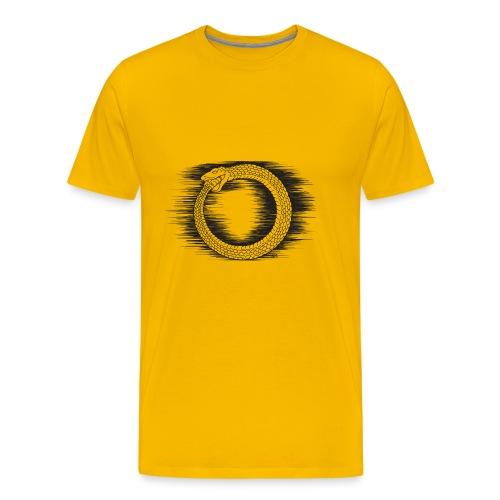 Ouroboros Revolutionary Symbol by KPC Studios - Men's Premium T-Shirt