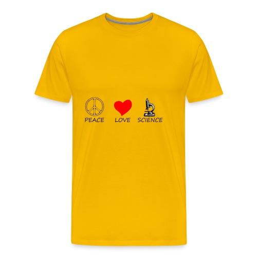 peace love3 - Men's Premium T-Shirt