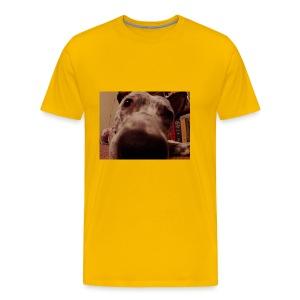 nosy puppy - Men's Premium T-Shirt