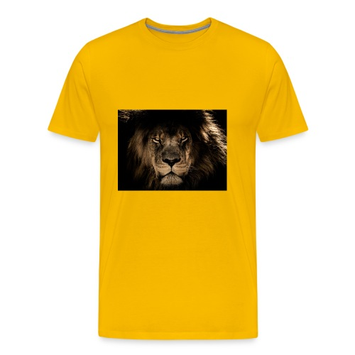 african lion 2888519 1920 - Men's Premium T-Shirt